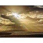Tahunanui Beach, Nelson, Zonsondergang – I (Luxe kaart 20x40cm.)